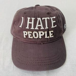 I Hate People Custom People Hat by Pavilion